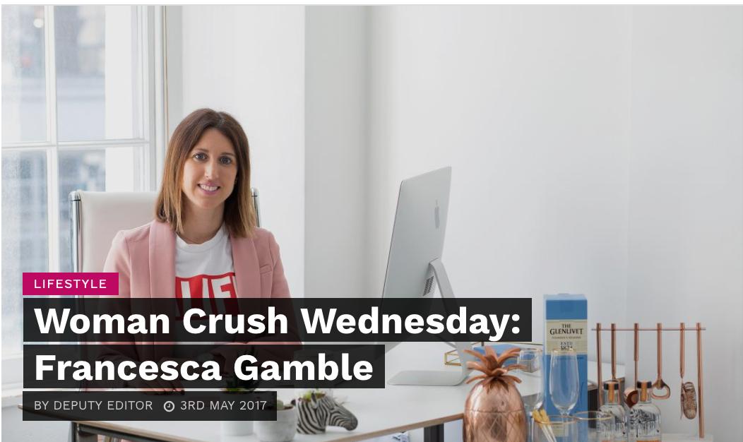 #WomanCrush Wednesday