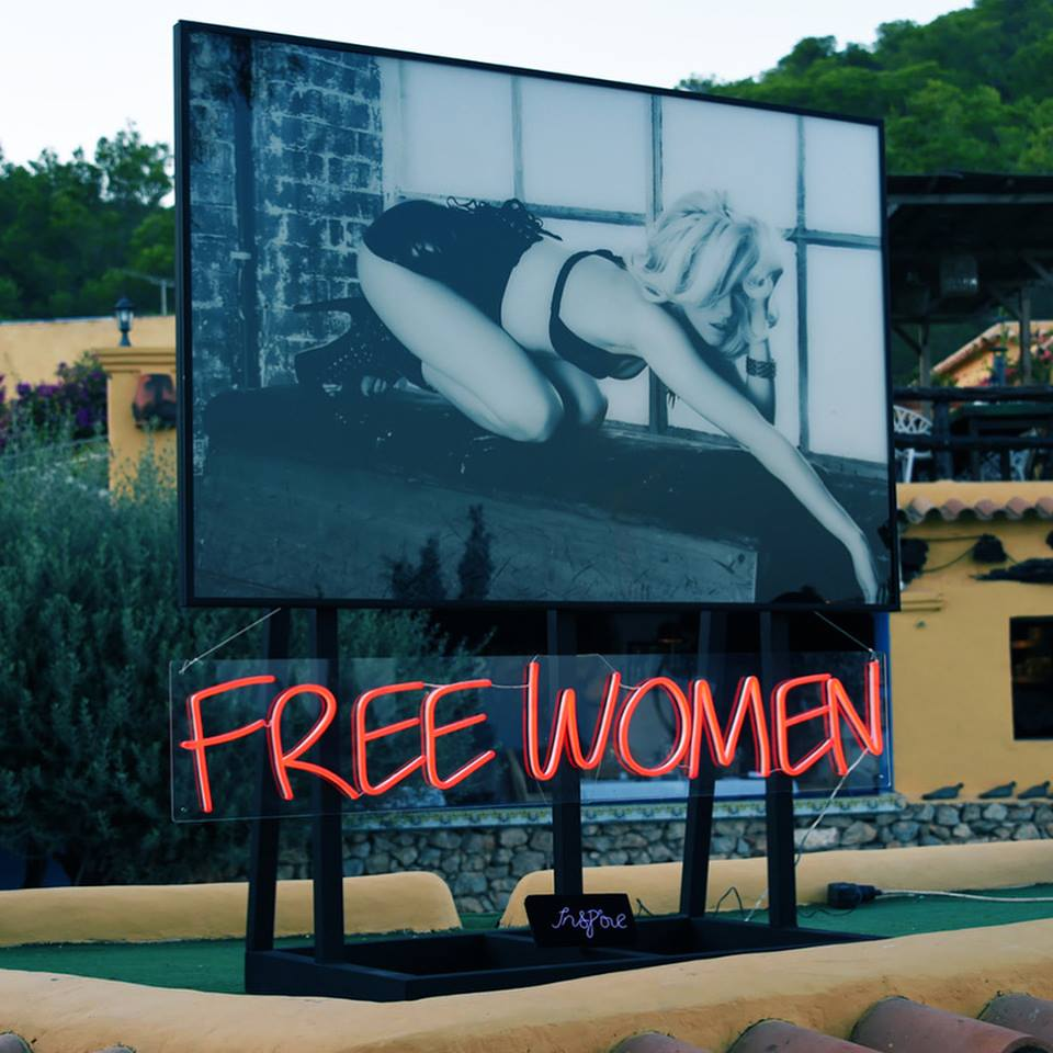 FREE WOMEN EXHIBITION IBIZA