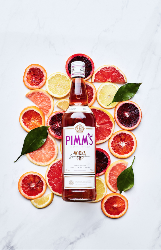 RE-LAUNCH LUXURY PIMM'S NO.6 VODKA CUP